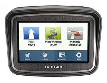 TomTom Rider Navigation Device for Bikers