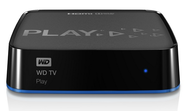 WD TV Play WiFi HD Media Player Streamer front