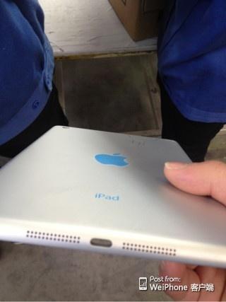 iPad mini 2 Backplate leaked 1