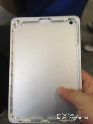 iPad mini 2 Backplate leaked 5