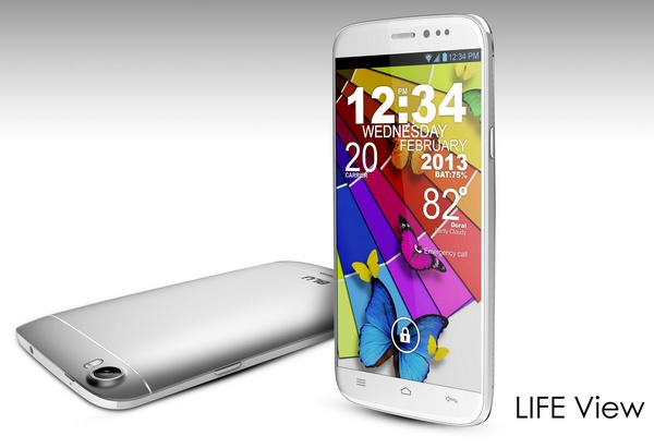 BLU Products Life view 5.7-inch android smartphone