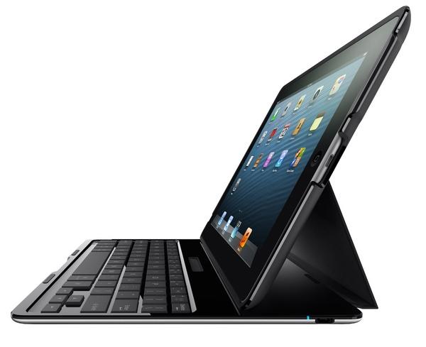 Belkin Ultimate Keyboard Case for iPad black side