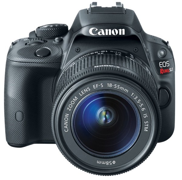 Canon EOS Rebel SL1 is the World's Smallest and Lightest DSLR front