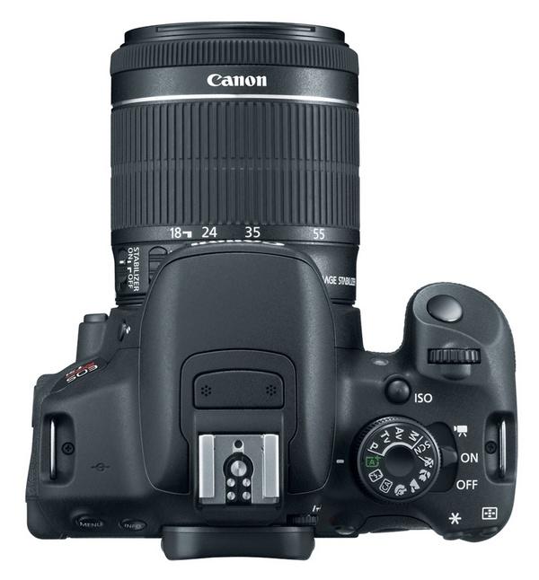 Canon EOS Rebel T5i DSLR Camera top