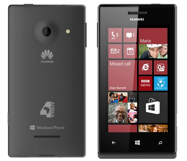 Huawei Windows Phone 4Afrika black