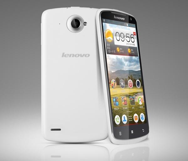 Lenovo S920 5.3-inch Quad-core Smartphone front back