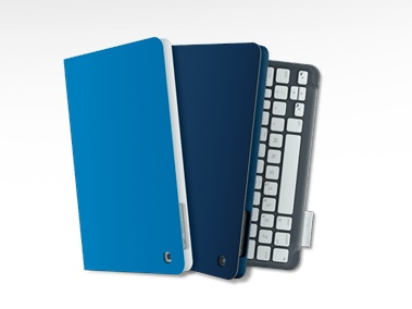 Logitech Keyboard Folio mini for iPad mini colors