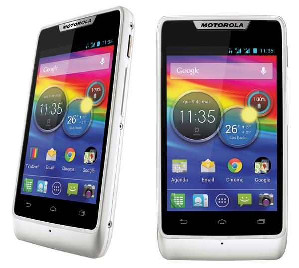 Motorola RAZR D1 dual-sim dtv android phone