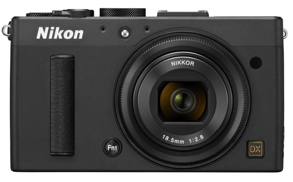 Nikon CoolPix A packs DX-format sensor in Pocket Size black front