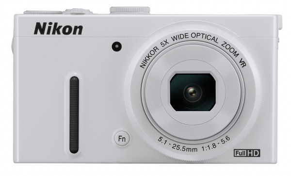 Nikon CoolPix P330 gets a f1.8 5x Optical Zoom Lens white front