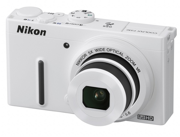 Nikon CoolPix P330 gets a f1.8 5x Optical Zoom Lens white