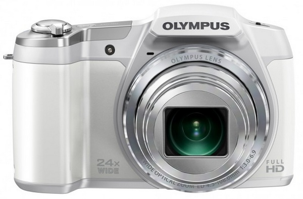 Olympus STYLUS SZ-16 iHS long-zoom camera silver