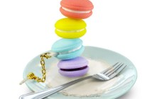 PQI Macaron USB Flash Drive on plate
