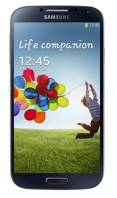 Samsung Galaxy S4 8-core Android smartphone black front