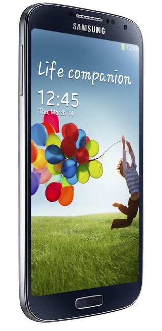 Samsung Galaxy S4 8-core Android smartphone black