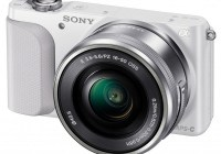 Sony Alpha NEX-3N Mirrorless Camera white