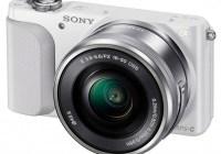 Sony Alpha NEX-3N Mirrorless Camera white