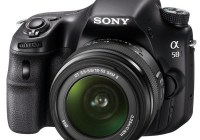 Sony Alpha a58 DSLR Camera for Beginners angle