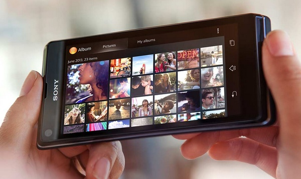 Sony Xperia L Entry-level Android Phone album