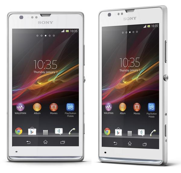 Sony Xperia SP Mid-range Smartphone white
