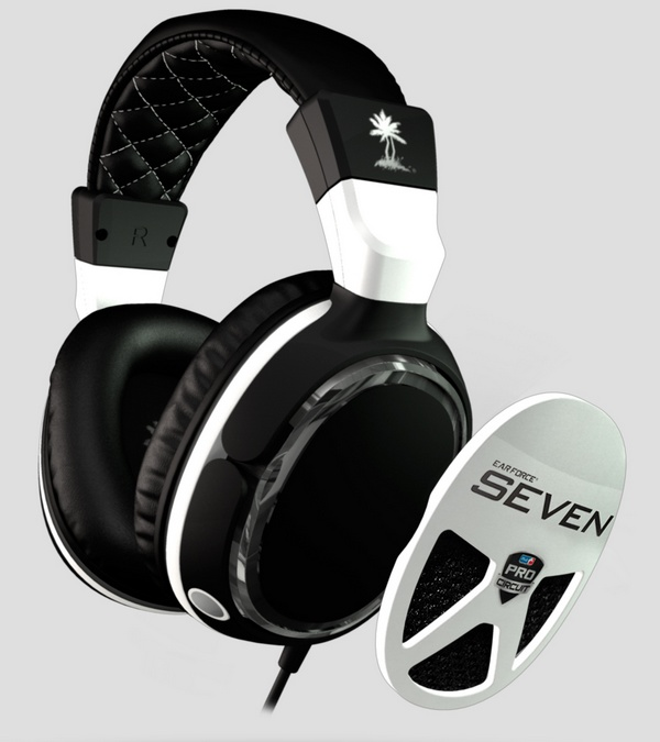 Turtle Beach Ear Force Z Seven Gaming Headset plate
