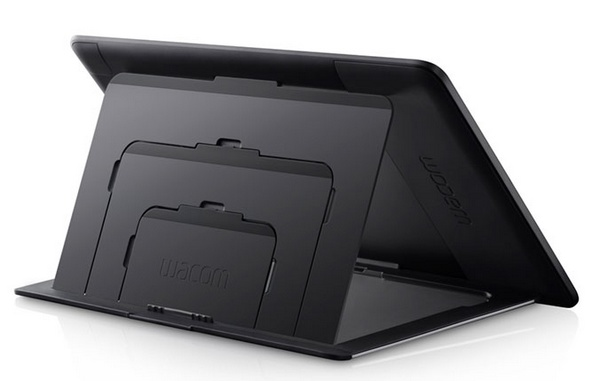 Wacom Cintiq 13HD Interactive Pen Display stand back