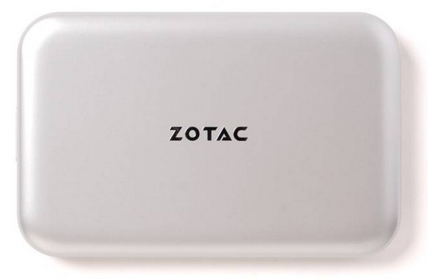 Zotac RAIDbox USB 3.0 mSATA SSD Enclosure top