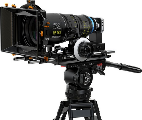 Blackmagic Pocket Cinema Camera uses Micro Four Thirds Mount with pro lens
