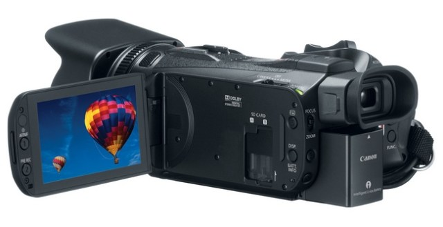 Canon VIXIA HF G30 Camcorder back
