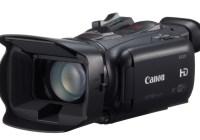 Canon XA25 and XA20 Ultra-Compact Professional Camcorders angle