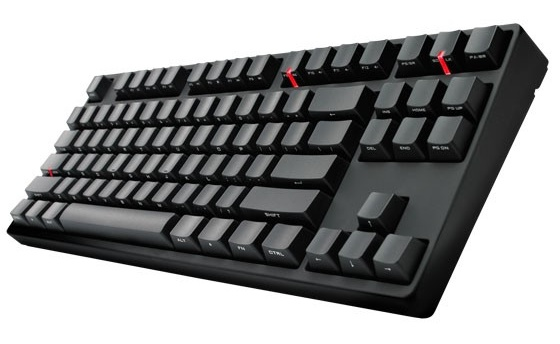 Cooler Master CM Storm QuickFire Stealth Mechanical Gaming Keyboard angle