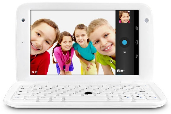 Ergo GoNote Mini 7-inch Android Tablet Netbook Hybrid front