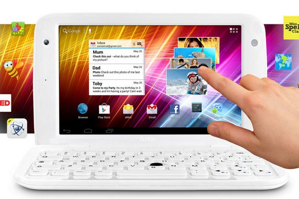 Ergo GoNote Mini 7-inch Android Tablet Netbook Hybrid