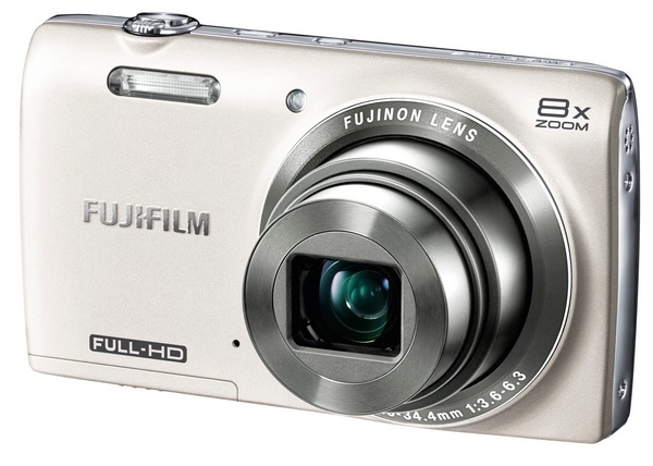 FujiFilm FinePix JZ700 8x Zoom Digital Camera white