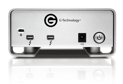 G-Technology G-DRIVE PRO with Thunderbolt High Performance External Hard Drive back