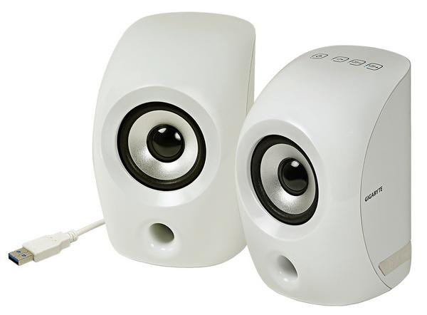 Gigabyte GP-S3000 USB 3.0 Speaker white