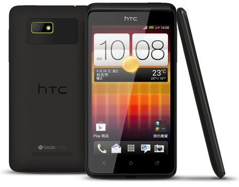 HTC Desire L android phone black