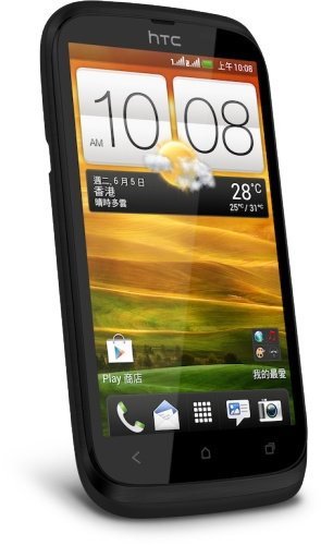 HTC Desire V Entry-level Dual-SIM Smartphone black