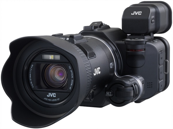 JVC Procison GC-PX100 Camcorder captures Fast-moving Actions angle