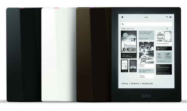 Kobo Aura HD Limited Edition E-book Reader colors