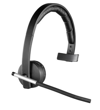 Logitech Wireless Headset H820e offers Enterprise-grade Audio mono