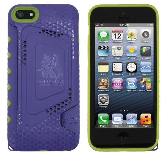 Miniwiz Jackie Chan Limited Edition iPhone 5 Case purple