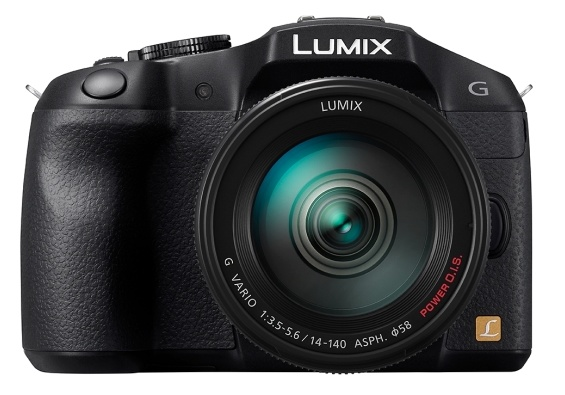 Panasonic LUMIX DMC-G6 Micro43 Mirrorless Camera front
