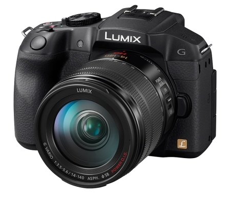 Panasonic LUMIX DMC-G6 Micro43 Mirrorless Camera