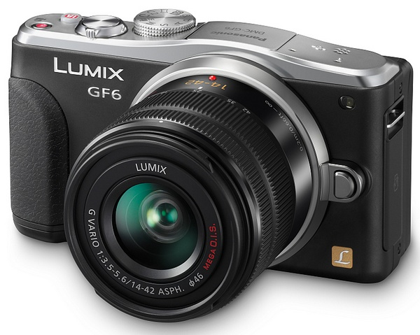 Panasonic LUMIX DMC-GF6 Micro Four Thirds Mirrorless Camera with WiFi and NFC