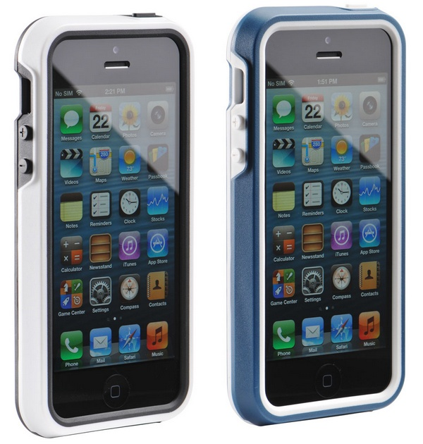 Pelican ProGear Protector iPhone 5 Case white teal