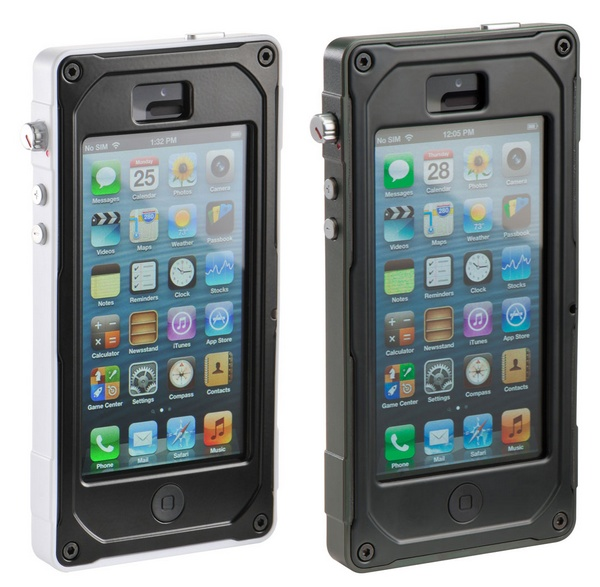 Pelican ProGear Vault iphone 5 case white green
