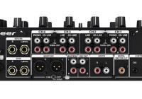 Pioneer DJM-750 4-channel Digital DJ Mixer back