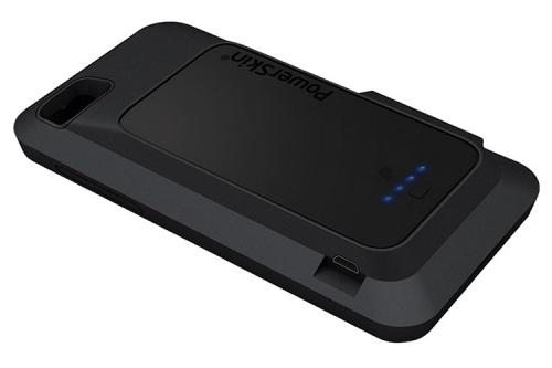 PowerSkin BC01BYB101-BK Battery Case for BlackBerry Z10 back