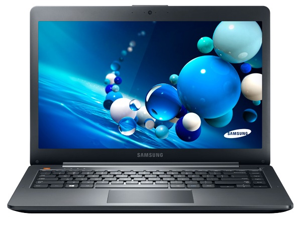 Samsung ATIV Book5 ultrabook front